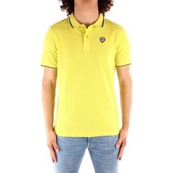 tekstylia Męskie Koszulki polo z krótkim rękawem Blauer 21SBLUT02272 Żółty
