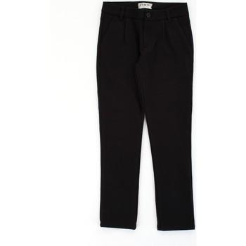tekstylia Chłopiec Spodnie z pięcioma kieszeniami Iceberg PTICE1107J Czarny