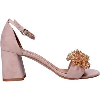 Buty Damskie Sandały Grace Shoes 380017 Różowy