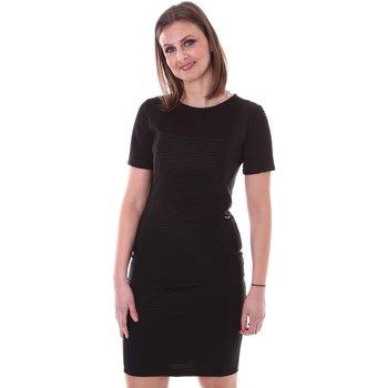 tekstylia Damskie Sukienki Akè F597YAL20861 Czarny