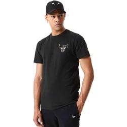 tekstylia Męskie T-shirty z krótkim rękawem New-Era 12590868 Czarny