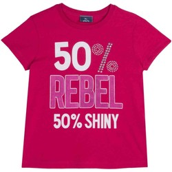tekstylia Dziecko T-shirty z krótkim rękawem Chicco 09067157000000 Różowy