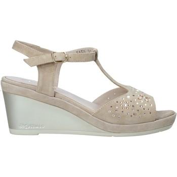 Buty Damskie Sandały Melluso HR70511 Beżowy