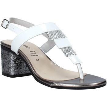 Buty Damskie Sandały Melluso H037097 Biały