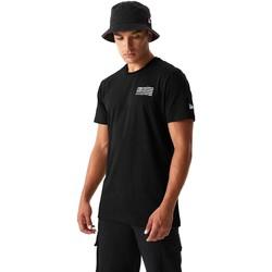 tekstylia Męskie T-shirty i Koszulki polo New-Era 12590875 Czarny
