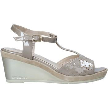 Buty Damskie Sandały Melluso HR70520 Beżowy