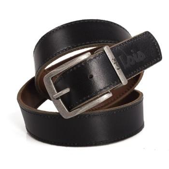 Dodatki Męskie Paski Lois Reversible Leather Odwracalne czarno-brązowy