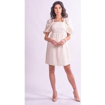 tekstylia Damskie Sukienki krótkie Fracomina F321SD1004W40001 Bezbarwny