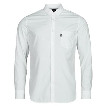 tekstylia Męskie Koszule z długim rękawem BOSS MAGNETON Biały
