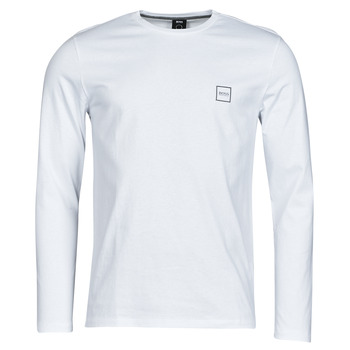 tekstylia Męskie T-shirty z długim rękawem BOSS TACKS Biały