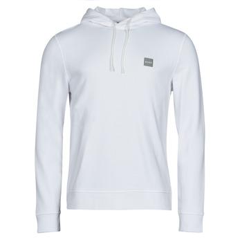tekstylia Męskie Bluzy BOSS WETALK Biały