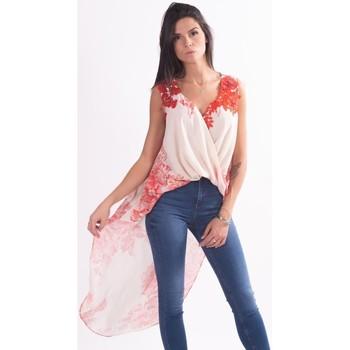 tekstylia Damskie Koszule Love To Love L17091 Bezbarwny