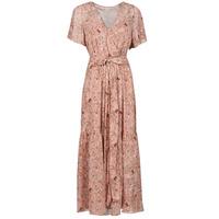 tekstylia Damskie Sukienki długie Betty London OTSANA Różowy
