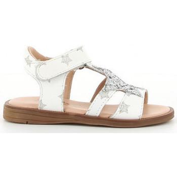 Buty Dziewczynka Sandały Acebo's 3149 PE blanc
