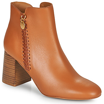 Buty Damskie Botki See by Chloé LOUISEE Camel
