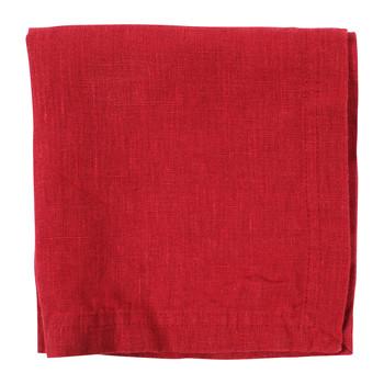 Dom Serwetki Côté Table BASIC Czerwony