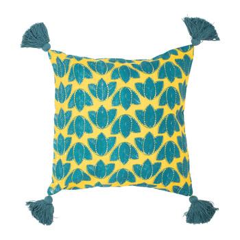 Dom Poszewki na poduszki Sema FEUILLAGE Niebieski