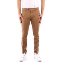 tekstylia Męskie Spodnie z pięcioma kieszeniami Roy Rogers P21RRU013C9250112 Beżowy