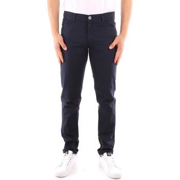 tekstylia Męskie Spodnie z pięcioma kieszeniami Trussardi 52J00007 1Y000163 Niebieski