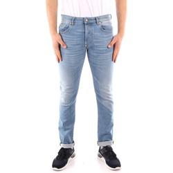 tekstylia Męskie Jeansy slim fit Blauer 21SBLUP03402 Niebieski