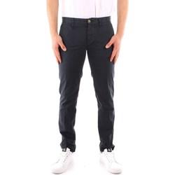 tekstylia Męskie Spodnie z pięcioma kieszeniami Blauer 21SBLUP01244 Niebieski