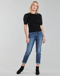 tekstylia Damskie Jeansy straight leg Pepe jeans VIOLET Niebieski / Medium