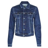 tekstylia Damskie Kurtki jeansowe Pepe jeans CORE JACKET Niebieski