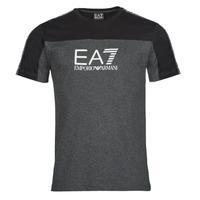 tekstylia Męskie T-shirty z krótkim rękawem Emporio Armani EA7 TRAIN ATHLETIC Czarny
