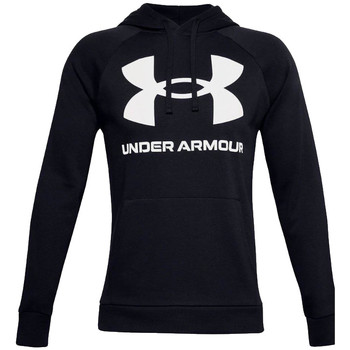 tekstylia Męskie Bluzy dresowe Under Armour Rival Fleece Big Logo Hoodie Czarny