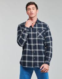tekstylia Męskie Koszule z długim rękawem Rip Curl CHECKED OUT L/S FLANNEL Niebieski