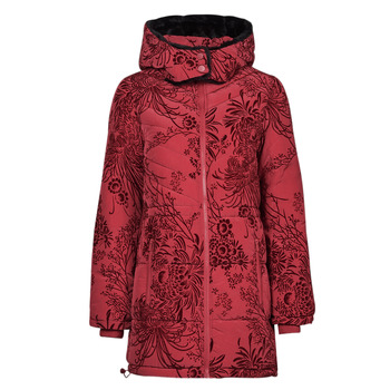 tekstylia Damskie Kurtki pikowane Desigual JAPAN Czerwony