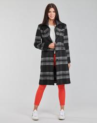 tekstylia Damskie Płaszcze Desigual CHRISTIE Czarny