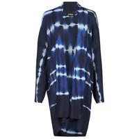 tekstylia Damskie Swetry rozpinane / Kardigany Desigual BRUMA Niebieski
