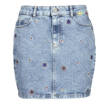 tekstylia Damskie Spódnice Desigual LESLIE Niebieski