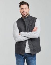 tekstylia Męskie Kurtki pikowane Oxbow N2JOMBAYO Szary