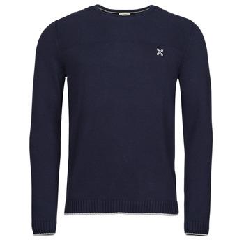 tekstylia Męskie Swetry Oxbow N2POLMI Marine
