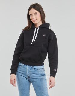 tekstylia Damskie Bluzy Champion CHAMPION LOGO Czarny