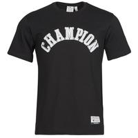 tekstylia Męskie T-shirty z krótkim rękawem Champion 216575 Czarny