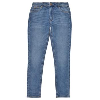 tekstylia Dziewczynka Jeansy skinny Pepe jeans PIXLETTE HIGH Niebieski