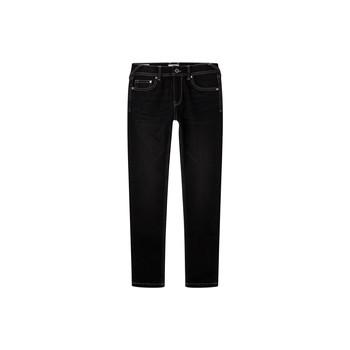 tekstylia Chłopiec Jeansy skinny Pepe jeans FINLY Niebieski / Fonce