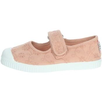 Buty Dziewczynka Baleriny Cienta 76998 pudrowyróżowy