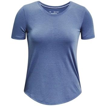 tekstylia Damskie T-shirty z krótkim rękawem Under Armour Streaker Run Short Sleeve Niebieski