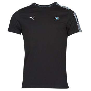 tekstylia Męskie T-shirty z krótkim rękawem Puma BMW MMS T7 TEE Czarny