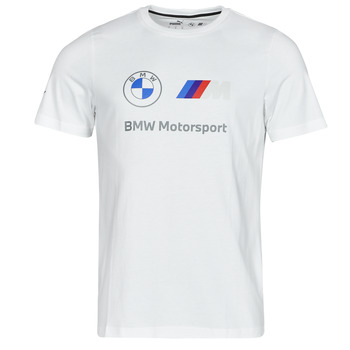 tekstylia Męskie T-shirty z krótkim rękawem Puma BMW MMS ESS LOGO TEE Biały
