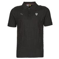 tekstylia Męskie Koszulki polo z krótkim rękawem Puma FERRARI STYLE JACQUARD POLO Czarny