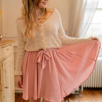 tekstylia Damskie Spódnice Céleste EGLANTINE Różowy