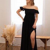 tekstylia Damskie Sukienki długie Céleste PATCHOULI Czarny