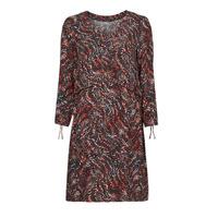 tekstylia Damskie Sukienki krótkie One Step FT30121 Czerwony / Wielokolorowy