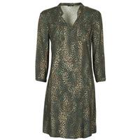 tekstylia Damskie Sukienki krótkie One Step FT30011 Kaki
