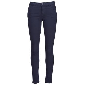 tekstylia Damskie Spodnie z pięcioma kieszeniami Morgan PETRA Marine